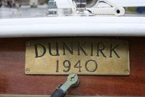 """""""Dunkirk 1940"""" brass plate"""