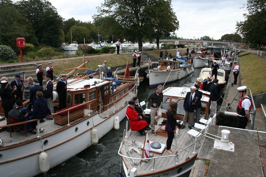 The Little Ships in Molesey Lock