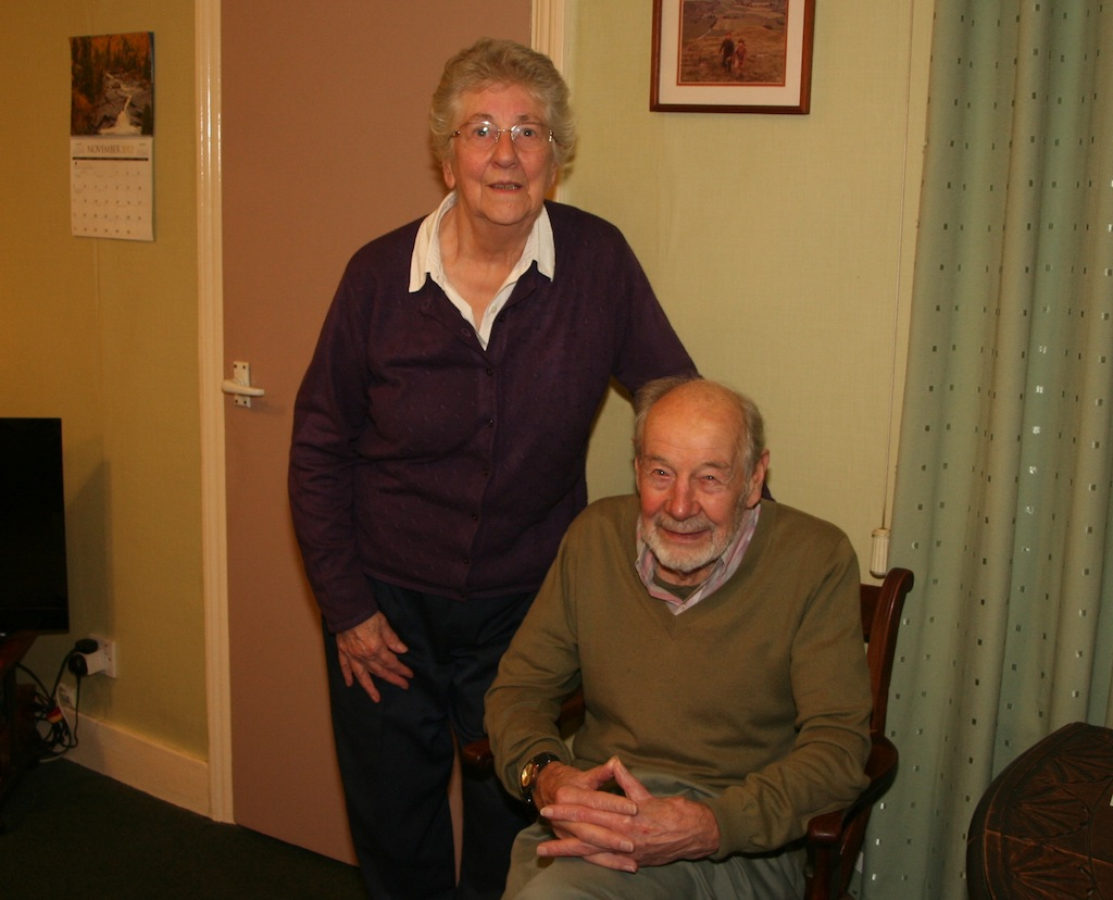 Betty and Tommy Barr relive their river memories