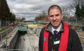 Matt Carter, the EA's Upper Thames Waterways Manager