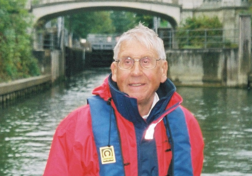 Alan Woolford from Desborough Sailing Club