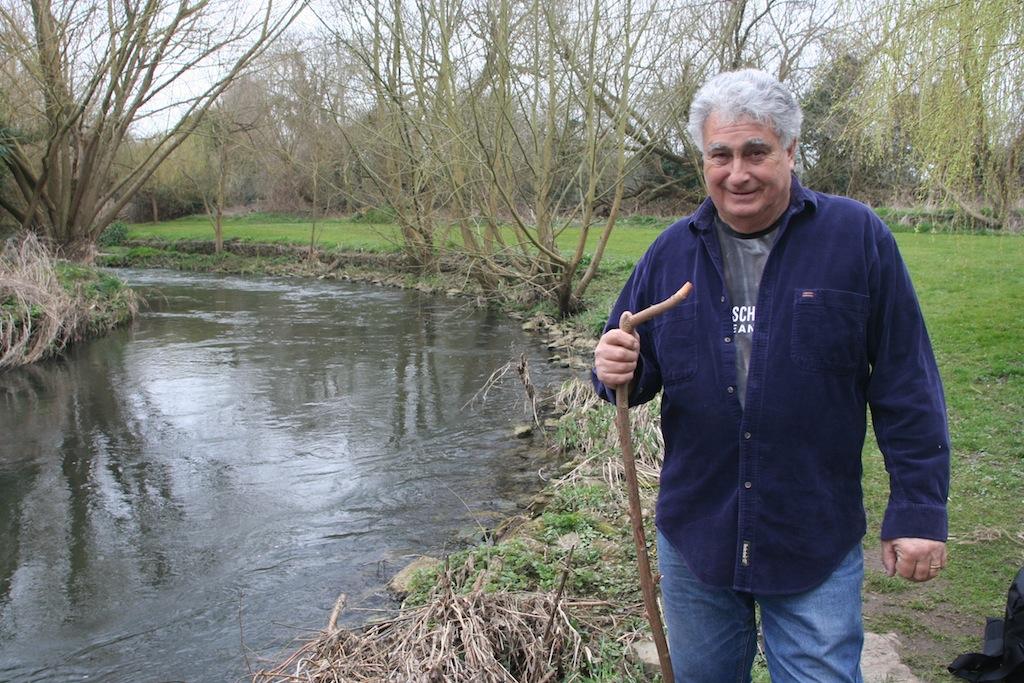 Alan James at the Creek
