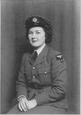 Doreen served as an officer in the WAAF