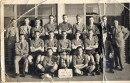 Is this Phil McCarthy? Standing to the right of this photo of the victorious Viola FC is the man known to the team as 'Captain Mac' . Pat Chimes (third from left in the middle row) wondered if this was Dinah Ballantyne's dad