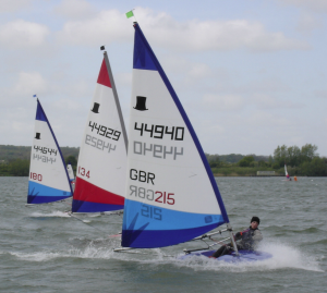 Time to get out on the water again, says Desborough Sailing Club's Ross Archer.