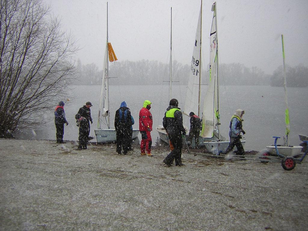 Desborough SC in the snow