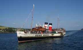 The paddle steamer Waverley will be visiting London again this year